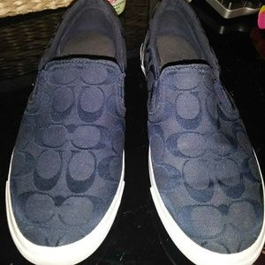 COACH Alegra slip on shoes